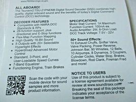 Soundtraxx 884808 Tsunami 2 TSU-PNEM8 Sound Decoder Steam-2, 8 Function image 4