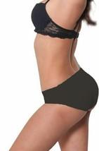 Fullness Air Flo Padded Butt Shaper Booster Panty Black #8081