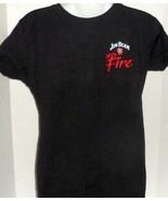 JIM BEAM FIRE WHISKEY BOURBON ICEHOUSE SUMMERVILLE SC GRAPHIC T-SHIRT LARGE - $8.99