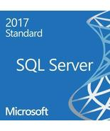 Microsoft SQL Server 2017 Standard Retail License Key Genuine & Permanen... - $99.98