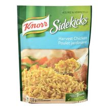 Knorr Sidekicks Harvest Chicken Rice 12 x 133g packages Canadian  - $59.99