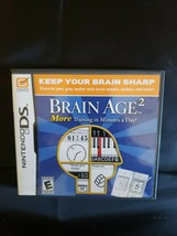 Brain Age 2: More Training in Minutes a Day (Nintendo DS, 2007) - $8.90
