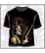 Star Wars Boba Fett The Bounty Hunter Figure Side View T-Shirt NEW UNWORN - $19.99