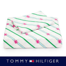"TOMMY HILFIGER ""lady griggin"" QUEEN SHEET SET 100%COTTON MULTI COLOR 20... - $64.75"