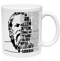 Sokrates Der Kluge - Better remain 11oz Ceramic High Quality Coffee Mug - $15.93