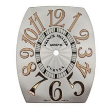 Franck Muller 5852 QZ REL D Cintree Curvex 36 x 29 mm Silver Men's Watch... - $499.00
