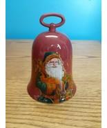 "Hallmark 5"" Ceramic Saint Nicholas Bell Christmas Holiday Santa Claus 2004 - $9.85"