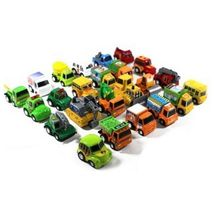 World Distribution Pull Back Go Miniature Mini Toy Cars Vehicles 24 Pieces Set image 3