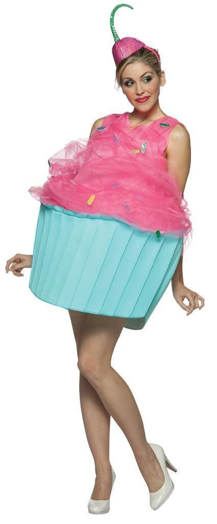 Sweet Eats Cupcake Costume Women Adult Dress One Size GC7086