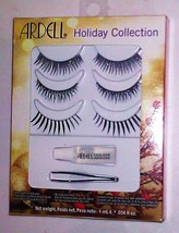 Ardell Lashes Pack of 3 Different Lashes + ADHESIVE and Small  tweezer New!!! - $4.45