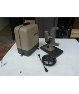 VINTAGE Bell and Howell Model 122 LR 8mm Movie Projector w/ Case SEE VIDEO - $100.00