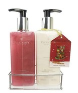Pecksniffs Cranberry & Winter Cherry Hand Wash & Hand Body Lotion Set - $17.81