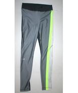 Womens S Under Armour Heat Gear Pants Leggings New Run Pilates NWT Gray ... - $39.60
