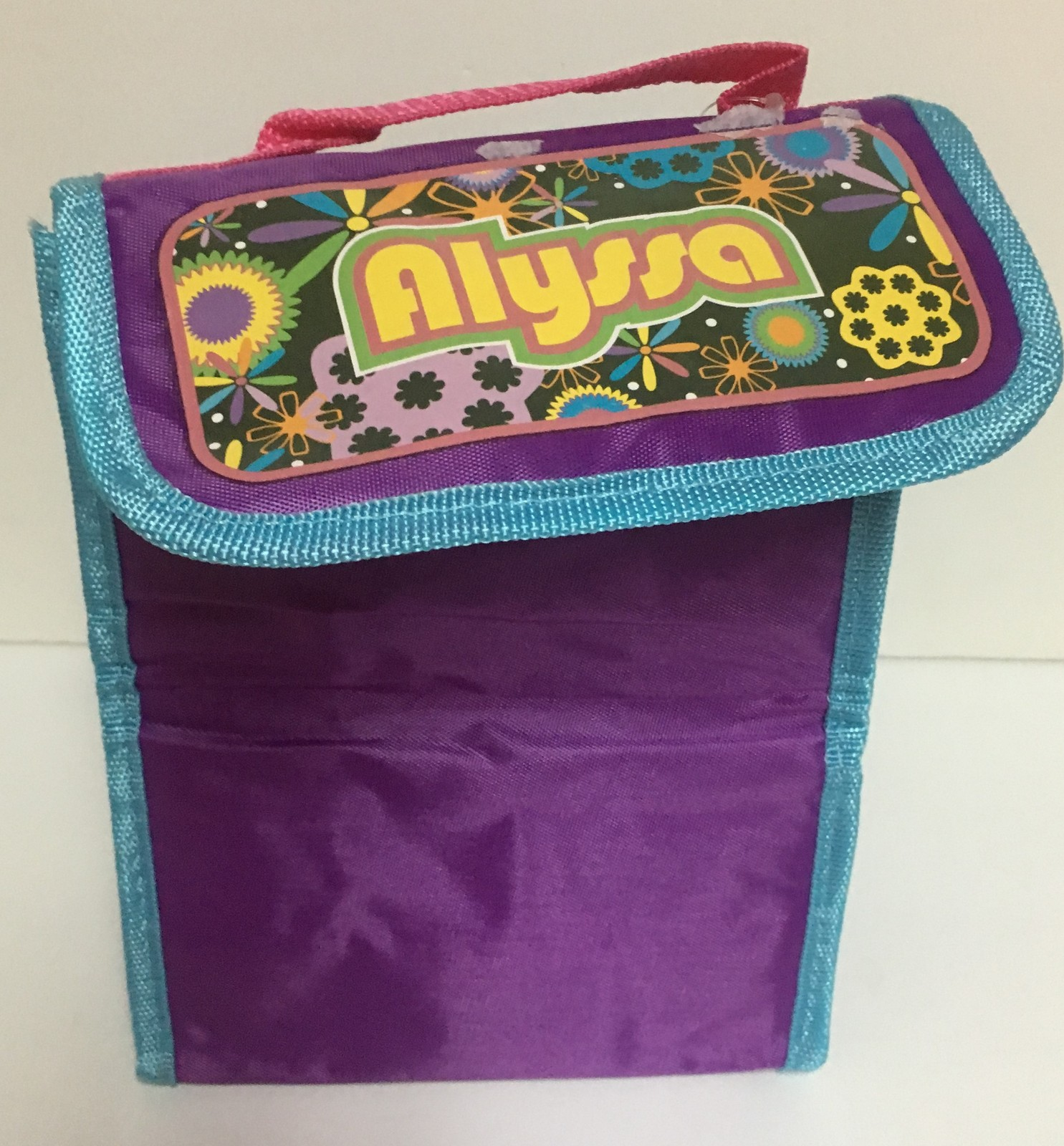Personalized Insulated Lunch Bag Fold Up ALYSSA
