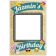 Glitter Emoji Social Media Selfie Frame Photo Booth Prop Poster - $22.50 - $55.00