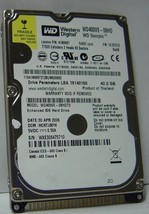 40GB IDE 44PIN 2.5 inch 9.5MM Hard Drive WD WD400VE Our Drives Work