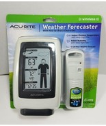 New ACURITE WIRELESS WEATHER FORECASTER MERCURY LEAD FREE 12-24 HOUR EAS... - $12.73