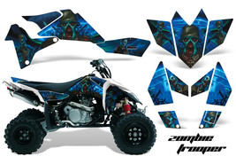 ATV Graphics Kit Quad Decal Sticker Wrap For Suzuki LTR450 2006-2009 ZOMBIE BLUE - $158.35