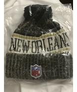 New Orleans Saints Beanie New Nfl Football New Era - $14.50
