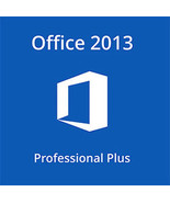Microsoft Office 2013 Professional Plus 32/64 Bit Key With Download - $138,10 MXN