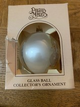 Precious Moments Glass Ball Christmas Ornament - $29.58