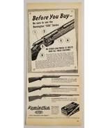 1946 Print Ad Remington 500 Series .22 Rifles 3 Models Bridgeport,Connec... - $16.81