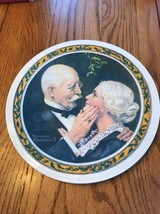 """1976 By R.S. Of A. KNOWLES 1854 """" Christmas 1976 Norman Rockwell """" Ships N 24h - $47.02"""