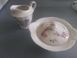 "Beautiful Theodore Haviland China ""Delaware"" - Creamer and Sugar Bowl with Lid! - $19.95"