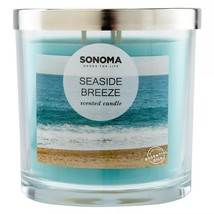 Sonoma Goods For Life Seaside Breeze Scented 3-Wick Candle - $22.99