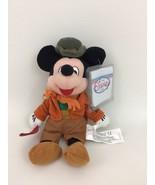 "Disney Store Bob Cratchit Mickey Mouse 8"" Orange Outfit Plush Stuffed To... - $15.99"