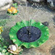 PondH2o Floating Water Lily Fountain Pump for Water Garden Fish Ponds & ... - $65.29