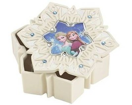 Lenox Disney Frozen Snowflake Jewelry Box Princess Elsa & Anna Trinket G... - $30.40