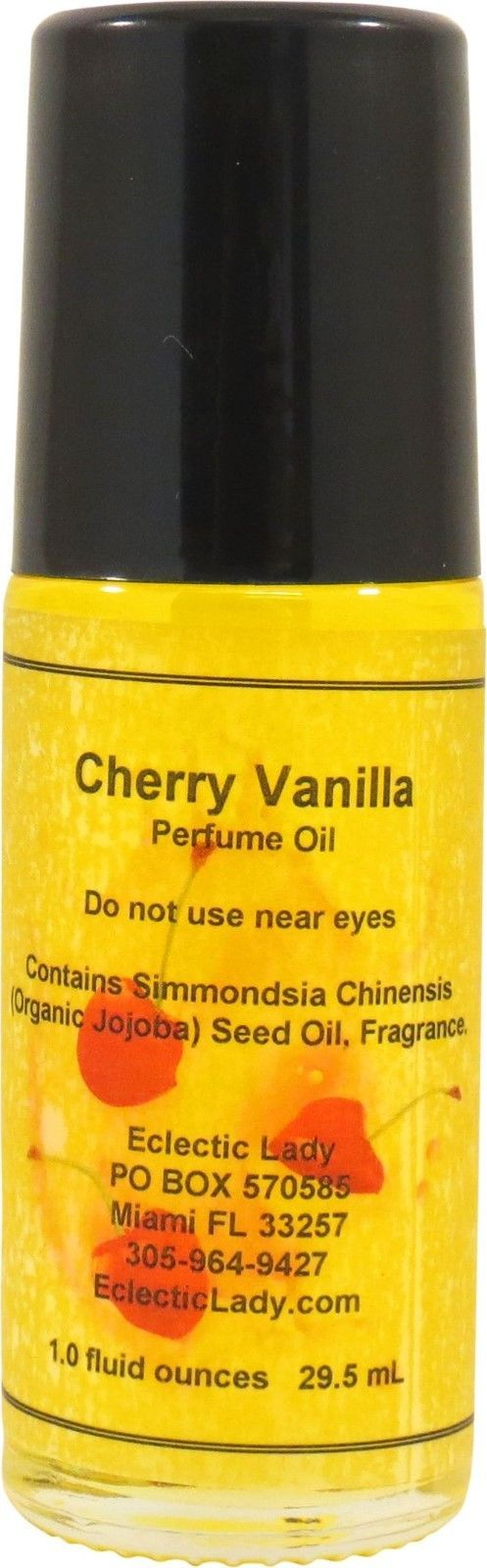 Cherry Vanilla Perfume Oil, Roll On Perfume Oil