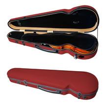 PAITITI Triangular Violin Shaped Full Size  Super Light Fiber Red Glass ... - $126.90