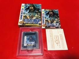 GAME BOY COLOR Nobunaga's Ambition Game Boy Ver. 2 Nintendo GBC F/S Japa... - $80.47