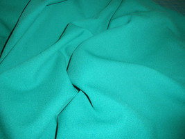 """Green Rayon Challis Fabric  44"""" Wide Sold by the Yard - $9.99"""