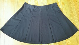 LANE BRYANT Flat Front Ponte ten Paneled Circle Swing Skirt New Plus Siz... - $13.86