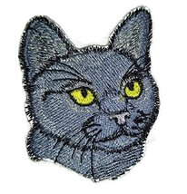 Amazing Custom Cat Portraits[Bombay Cat Face ] Embroidered Iron On/Sew p... - $5.93