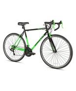 700c RoadTech Men's Light Steel Frame Road Bike 21-speed Drivetrain, Bla... - $244.95