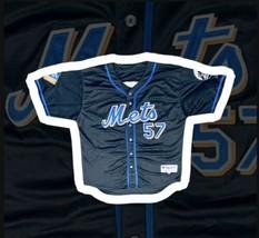 New York Mets Johan Santana #57 Inaugural Season Majestic Jersey - MLB - $49.49