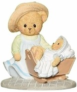 Roman 12470 Cherished Teddies Evelyn and Mia Mother and Baby Figure, 3.7... - $15.83