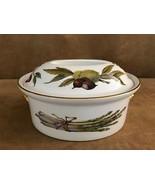 Royal Worcester Evesham oval game casserole shape 24 size 5 china porcel... - $72.50