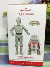 Hallmark Star WArs SDCC Exclusive U-3PO & R5-D4 2015 Christmas Ornament - $187.85