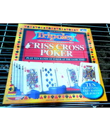 Tripoley Criss Cross Poker Game-Sealed - $16.00