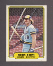 1982 Fleer # 155 Robin Yount Milwaukee Brewers NRMT - MINT - $0.99