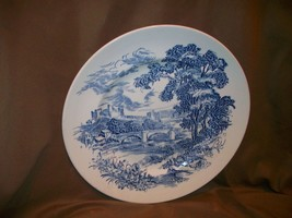 Enoch Wedgwood Tunstall Countryside Dinner Plate Made In England - $9.89