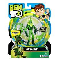 Ben 10 WILDVINE Action Figure Toy 12.5 cm Original, New & Sealed - $30.59