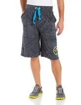 Zumba Fitness Let's Connect Shorts, Dark N Dirty Slate, X-Small - $12.86