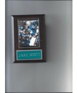 JAKE SCOTT PLAQUE MIAMI DOLPHINS FOOTBALL NFL - $2.66