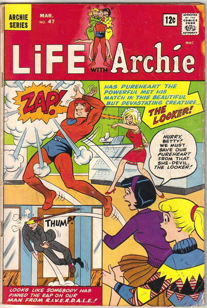 Life With Archie Comic Book #47, Archie 1966 VERY GOOD